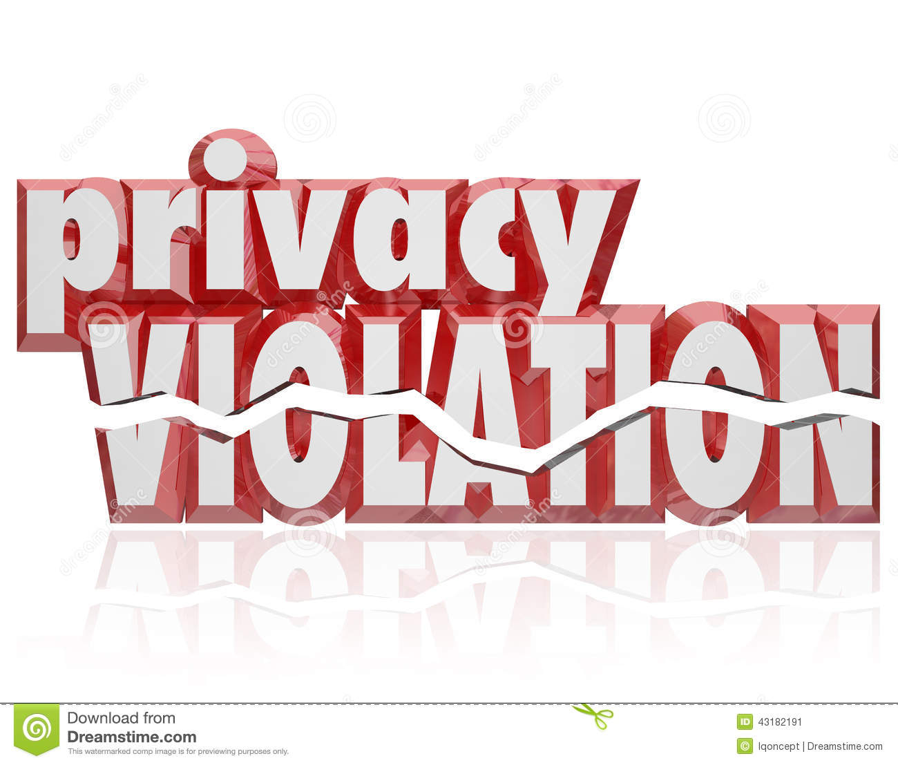 Information Privacy Clip Art