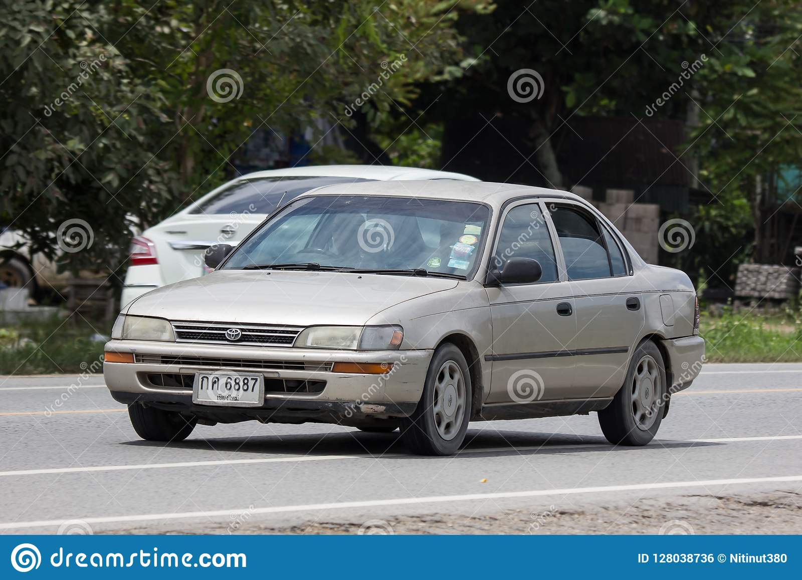 Privat gammal bil, Toyota Corolla