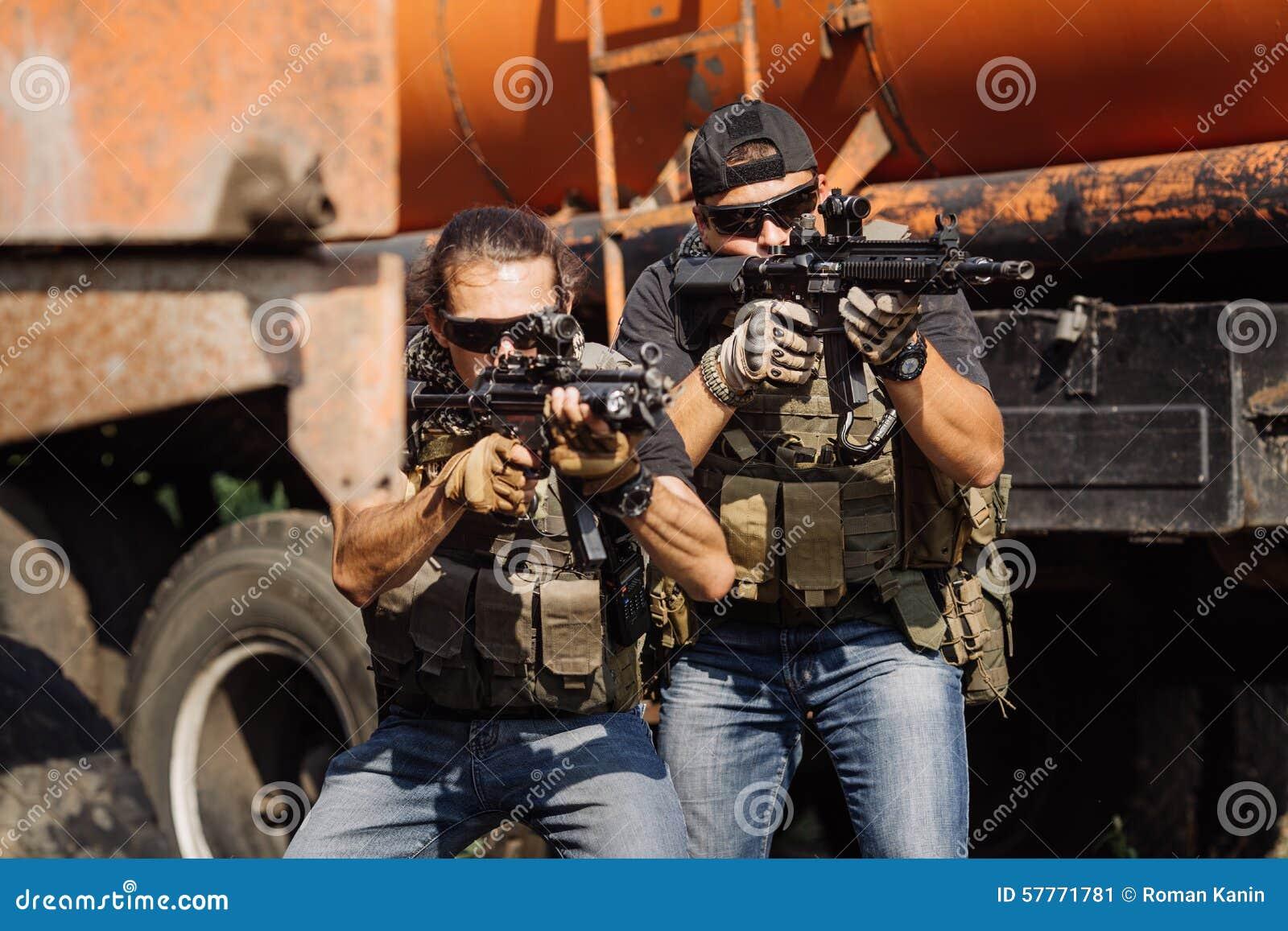Privat militär leverantör under den speciala operationen