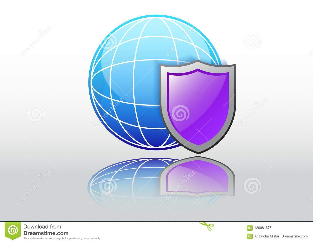 Private browser stock vector  Illustration of online - 120081675