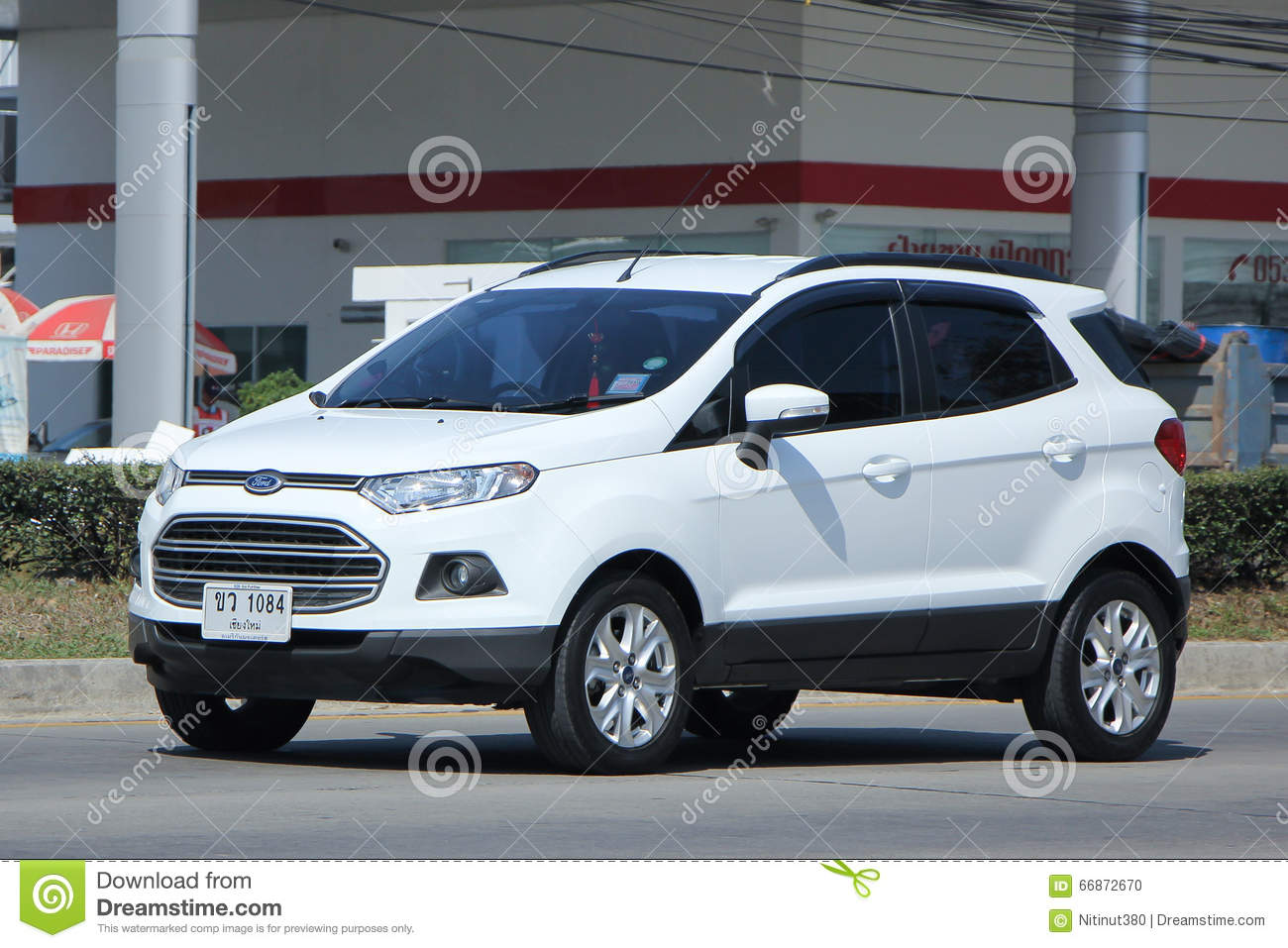 Private Car Ford Ecosport Editorial Image Image Of Background