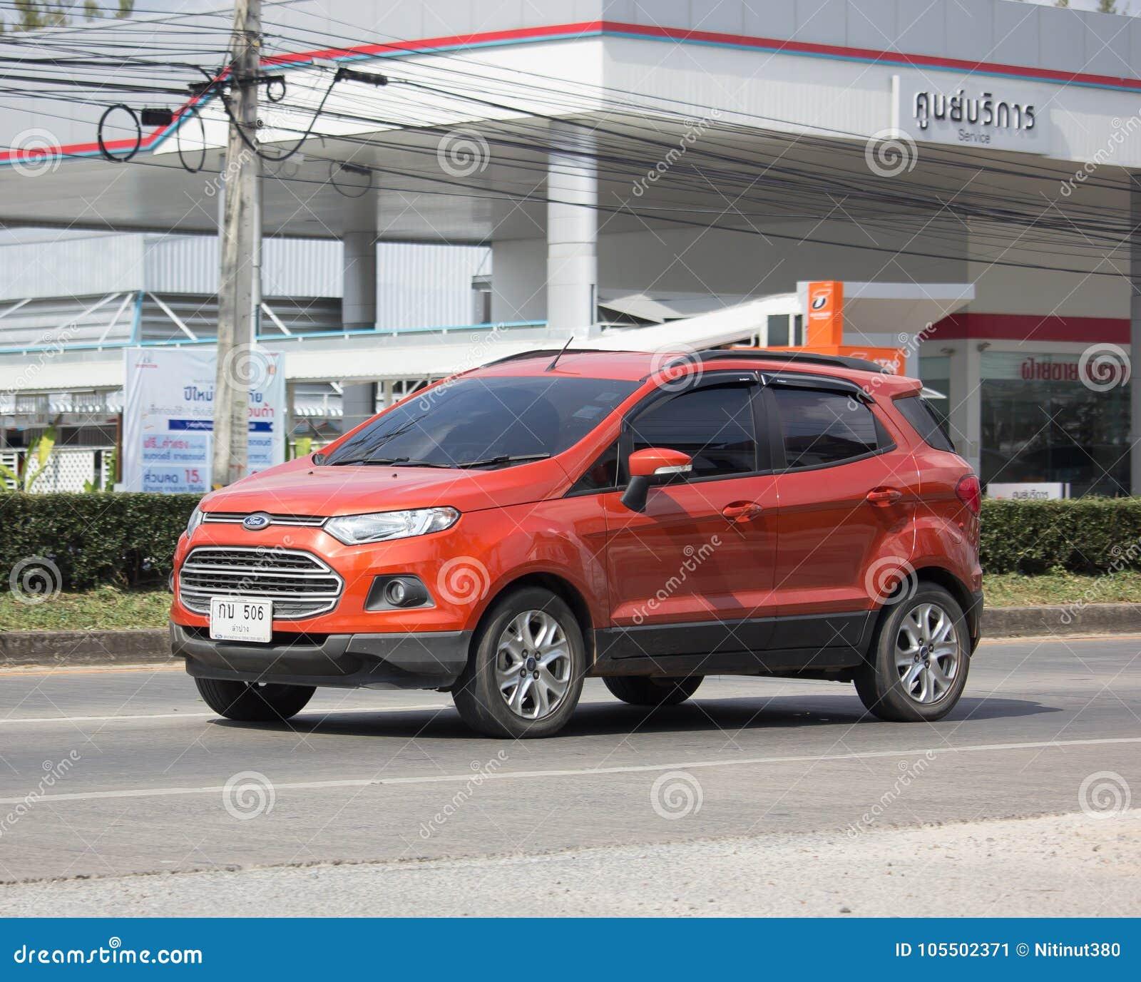 Private Car Ford Ecosport Suv Car For Urban User Editorial Photo