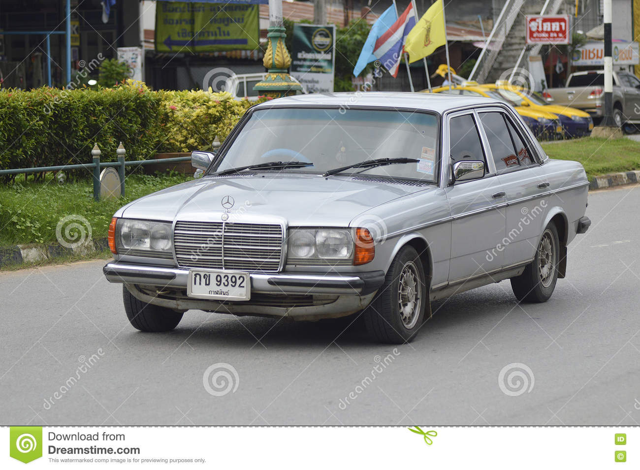 private car mercedes benz old car editorial image image of auto