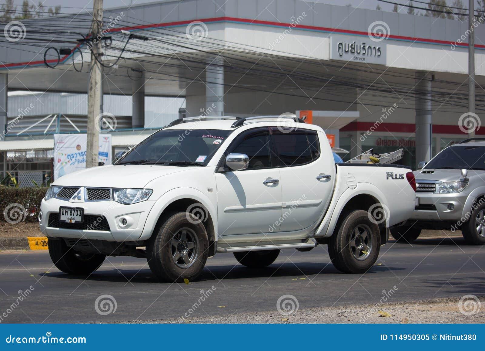 Private Car, Mitsubishi Triton Pickup Truck  Editorial Image