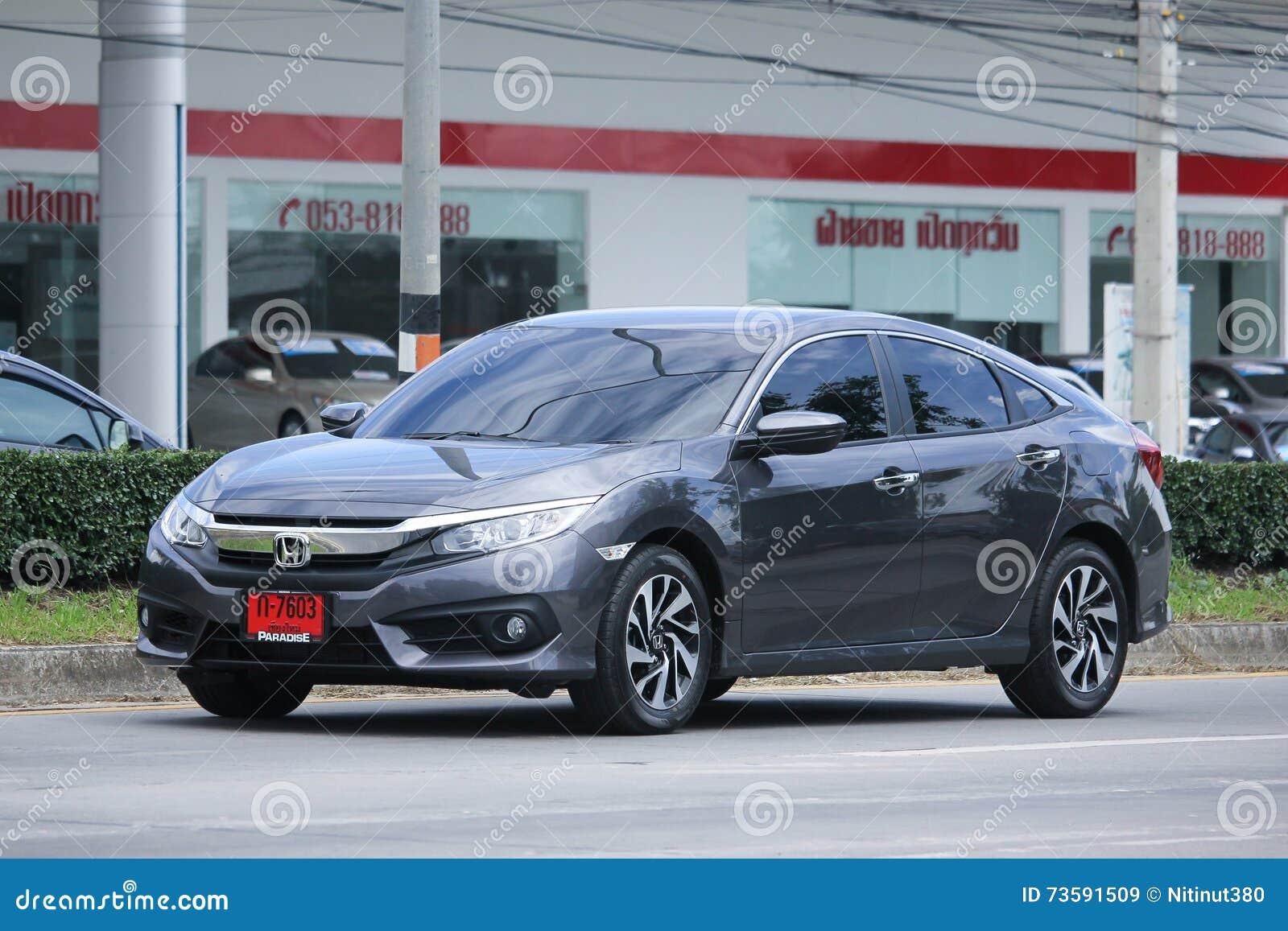 Private Car, Honda Civic. Editorial Image   CartoonDealer ...