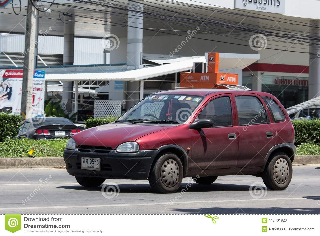 Private car, Opel Swing  editorial stock photo  Image of