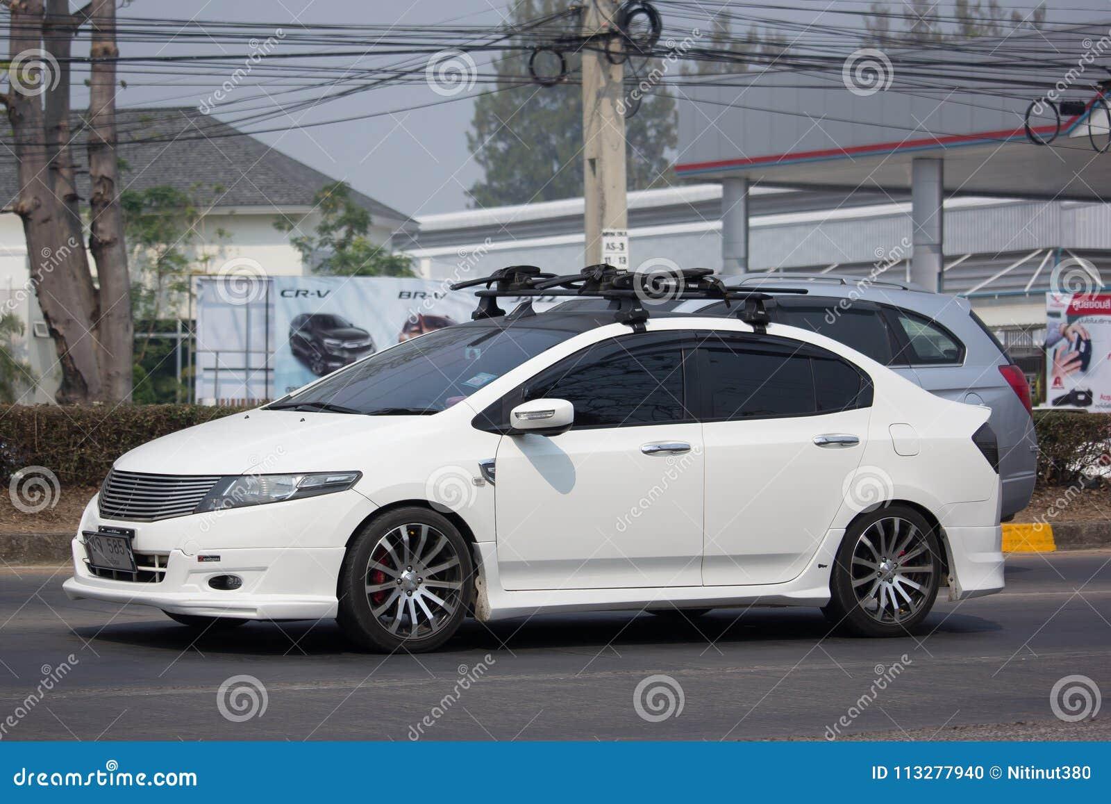 Private City Car Honda City Editorial Image Image Of Wheel Asian