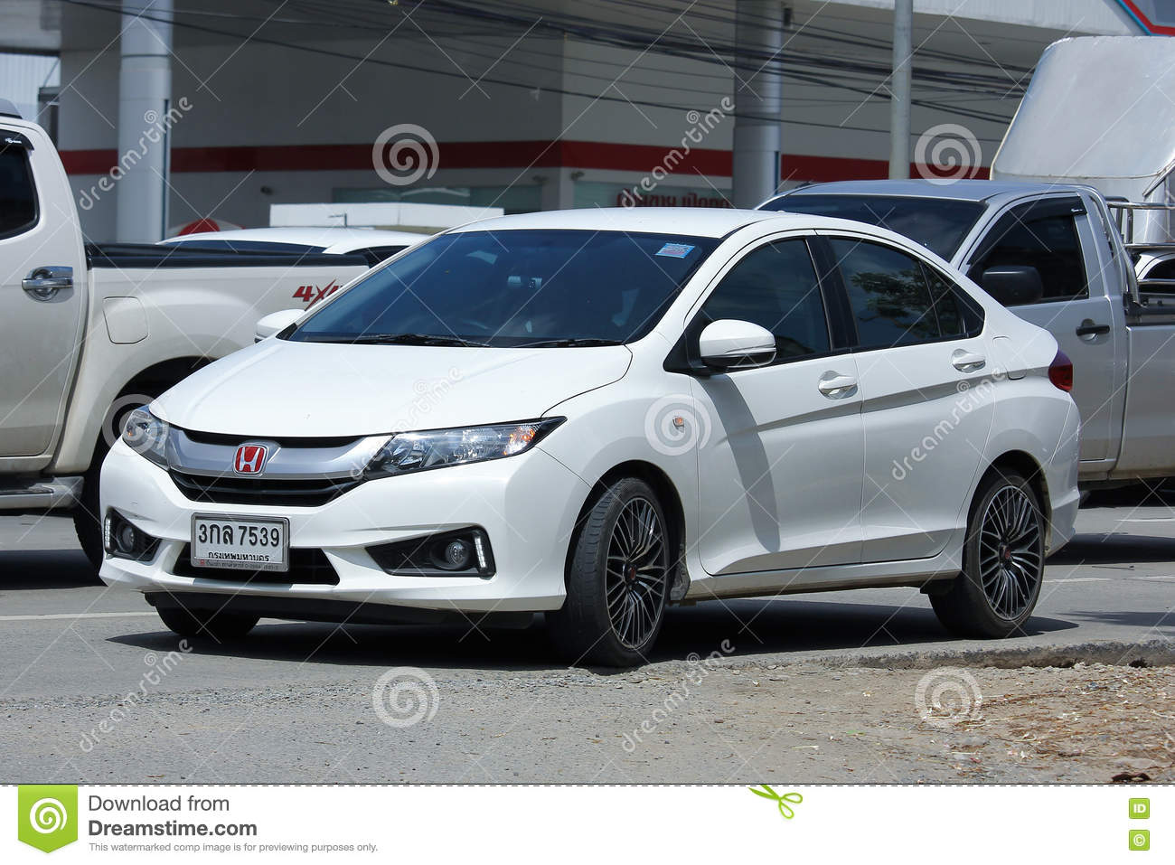 Private City Car Honda City Editorial Photography Image Of Road