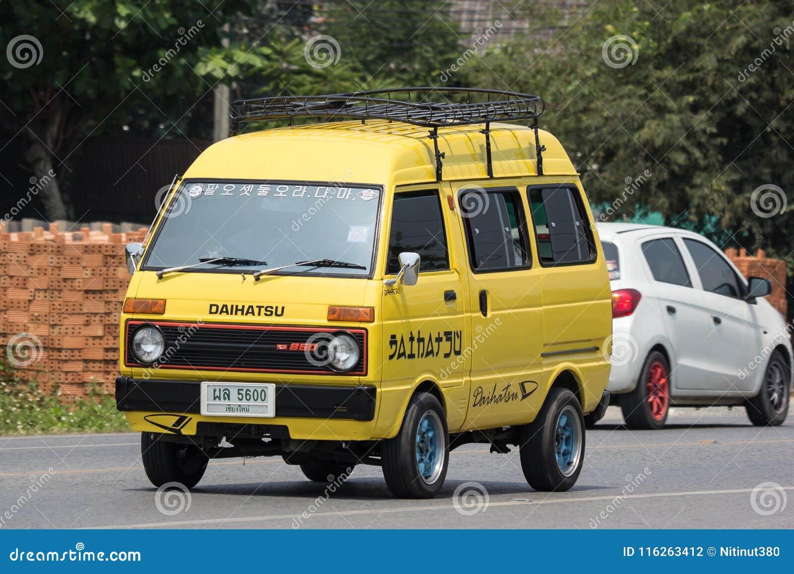 Private Daihatsu Old Van Car Editorial Photography Image Of