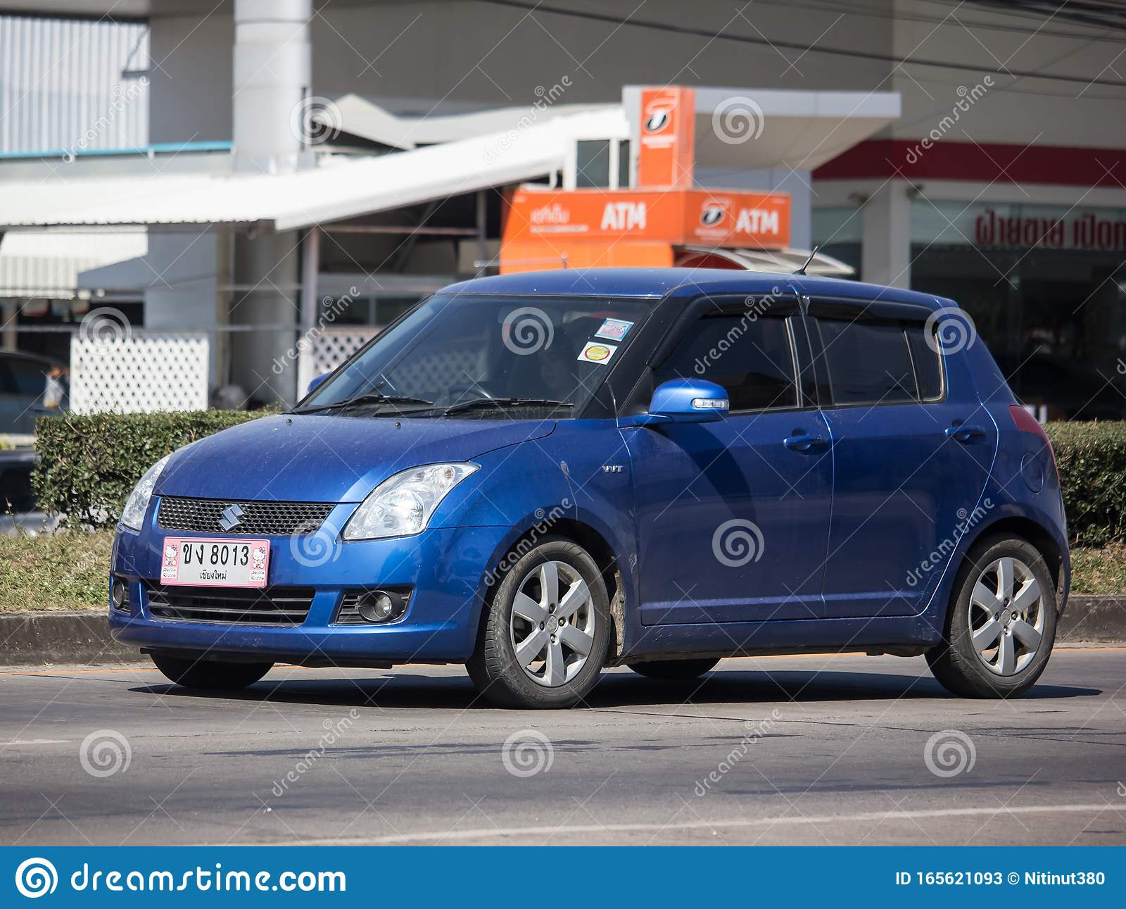 Private Eco City Car Suzuki Swift Editorial Stock Photo ...