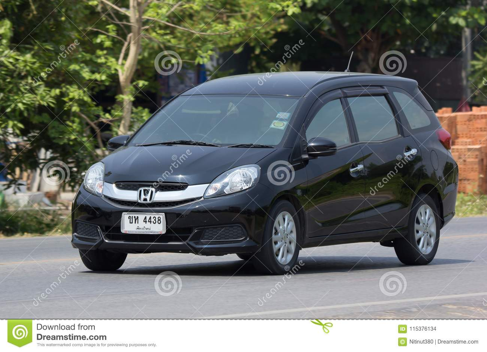 Private Honda Mobilio Van Editorial Stock Image Image Of Modern