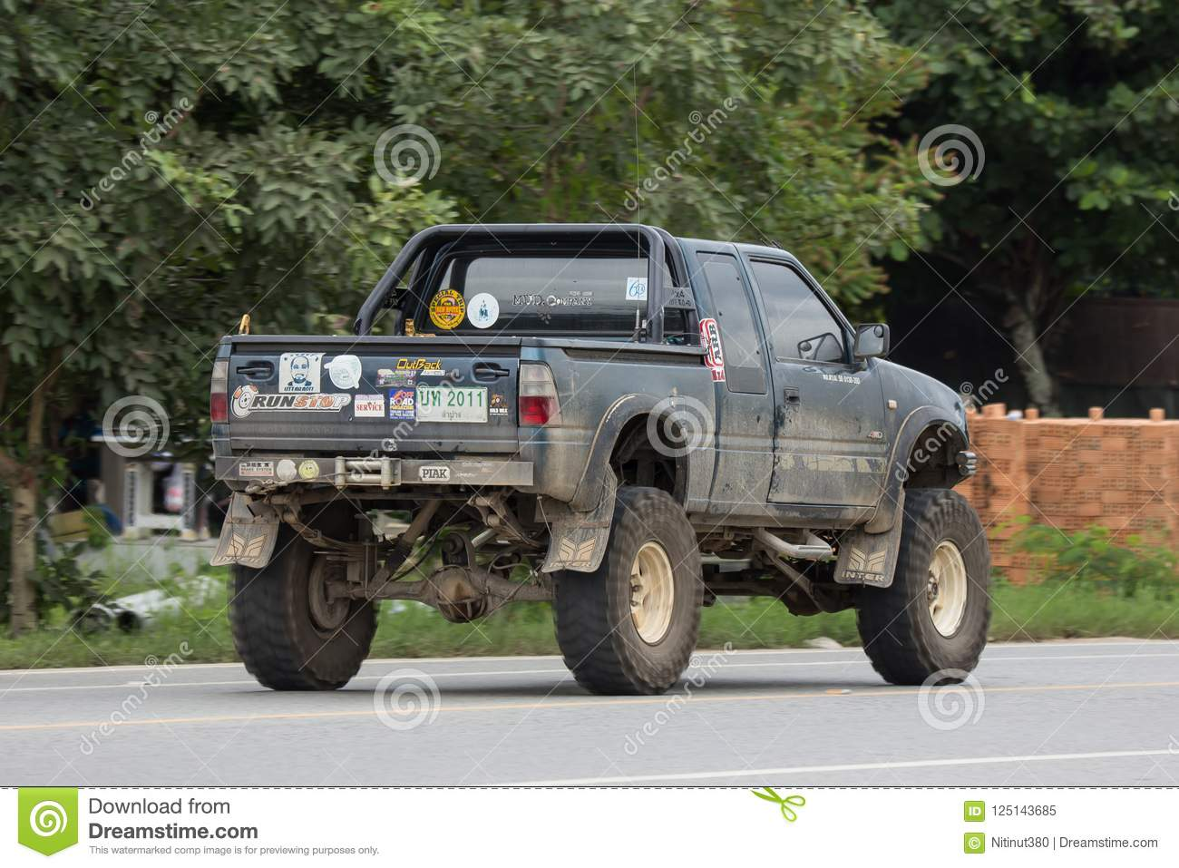 Private Isuzu TFR Pickup Truck  Editorial Image - Image of