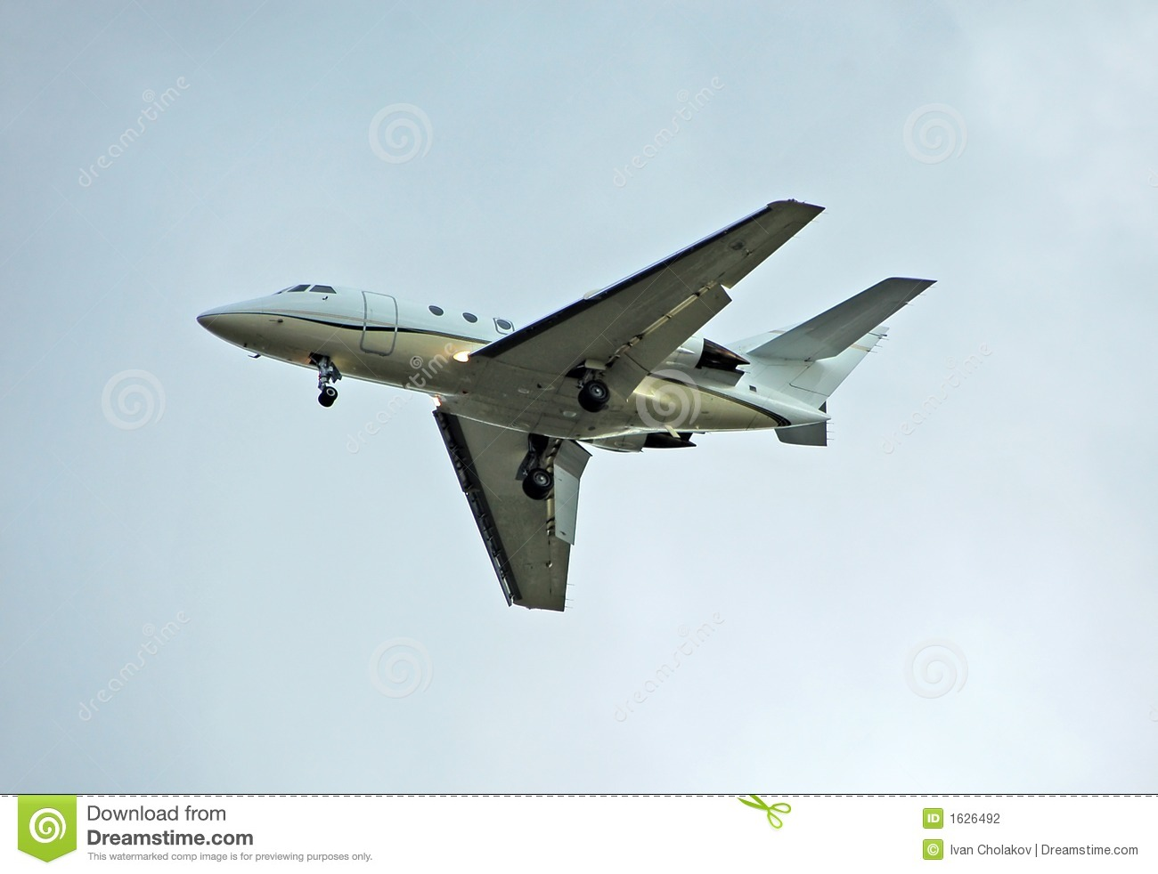 Private Jet For Charter Service Stock Photography  Image 1626492