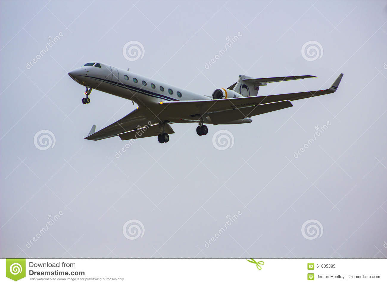 Private Jet Editorial Image  Image 61005385