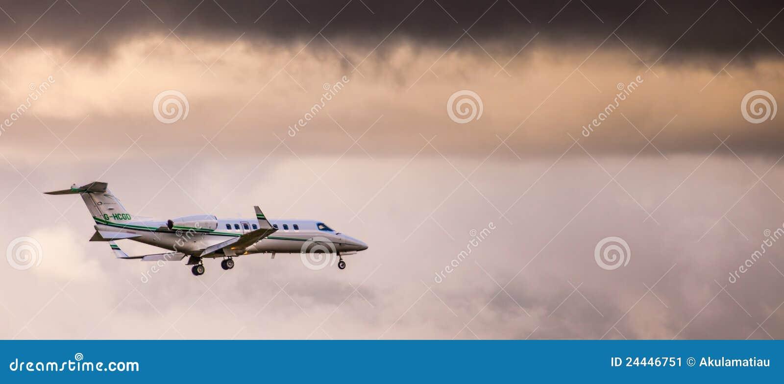 Private Jet Plane Editorial Photo  Image 24446751