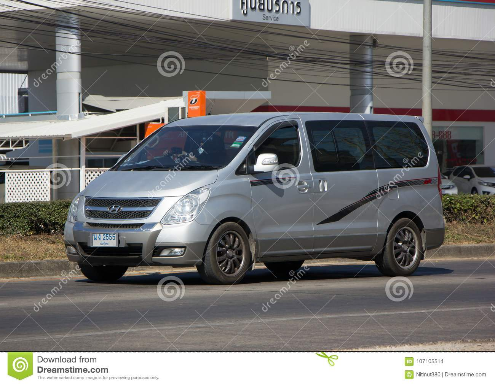 Luxury Van From Hyundai Korea. Hyundai H1. Editorial Stock ...