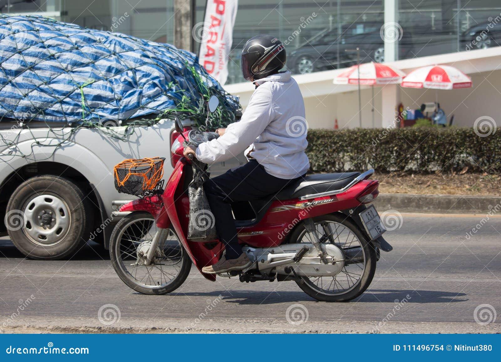 Private Motorcycle, Honda Dream Editorial Stock Image ...