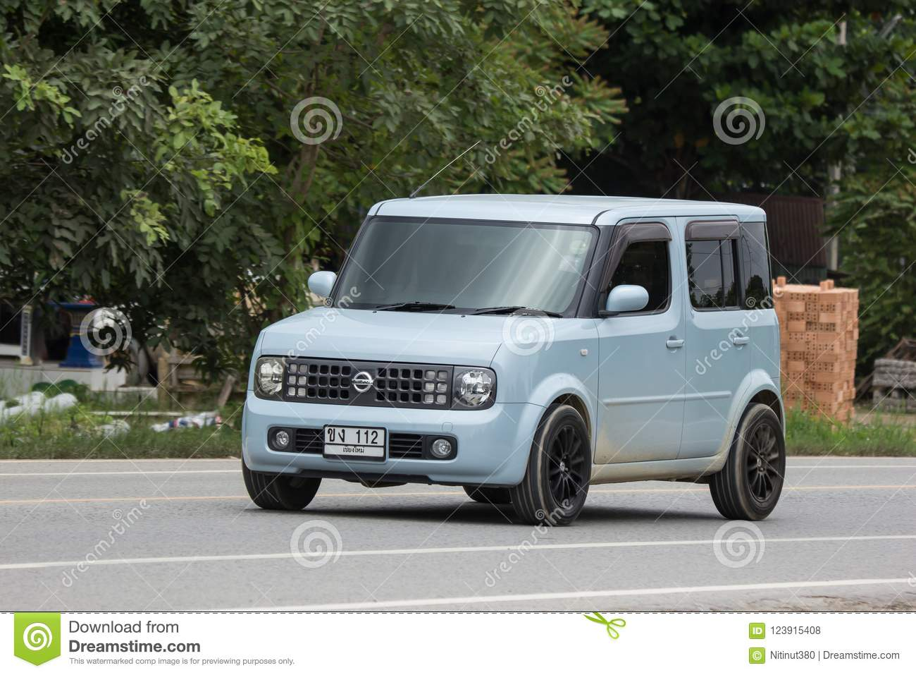 Private Nissan Cube Mini Van Editorial Stock Photo Image Of Speed
