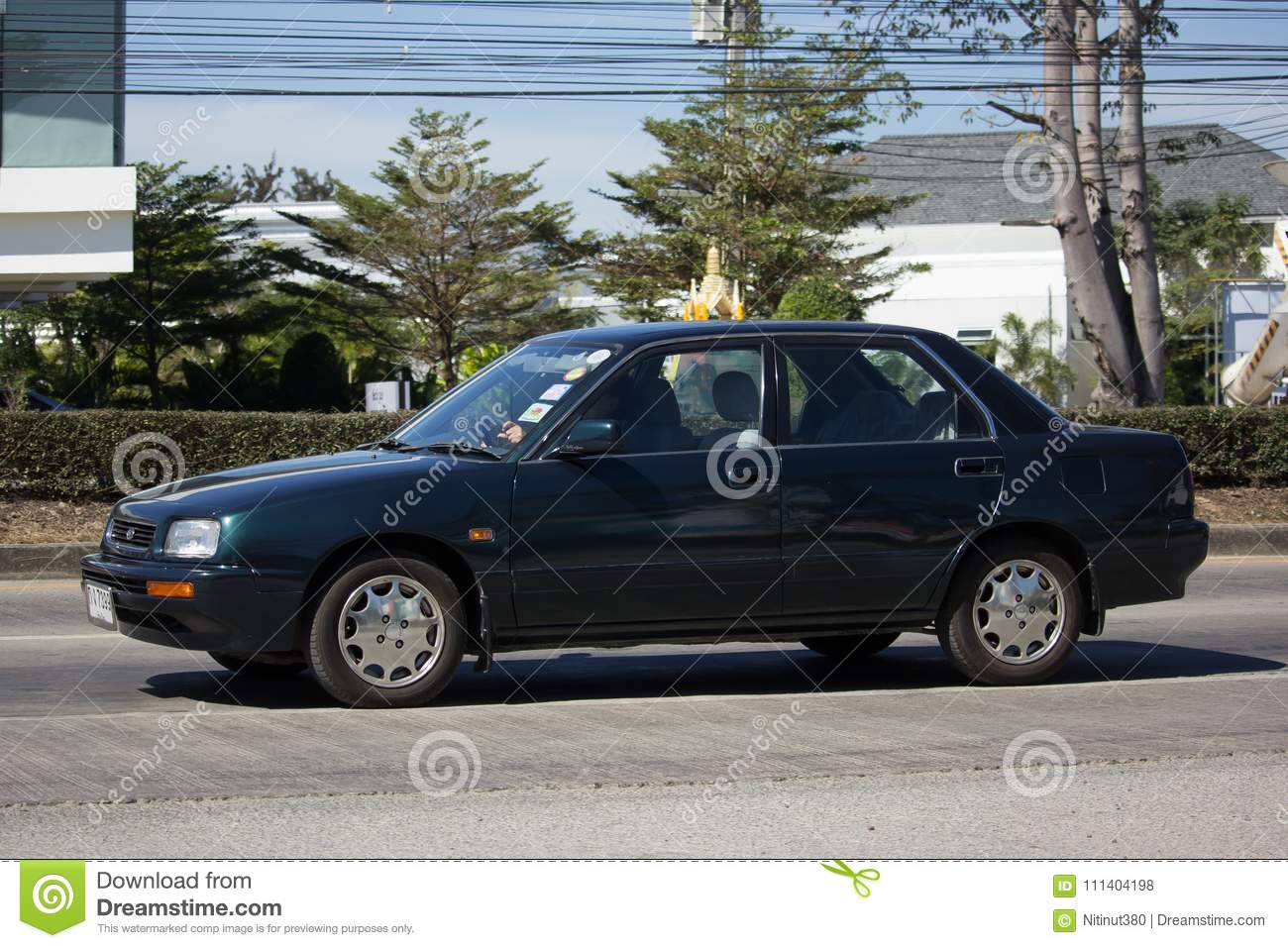 Private Old Daihatsu Applause Car Editorial Stock Photo Image Of