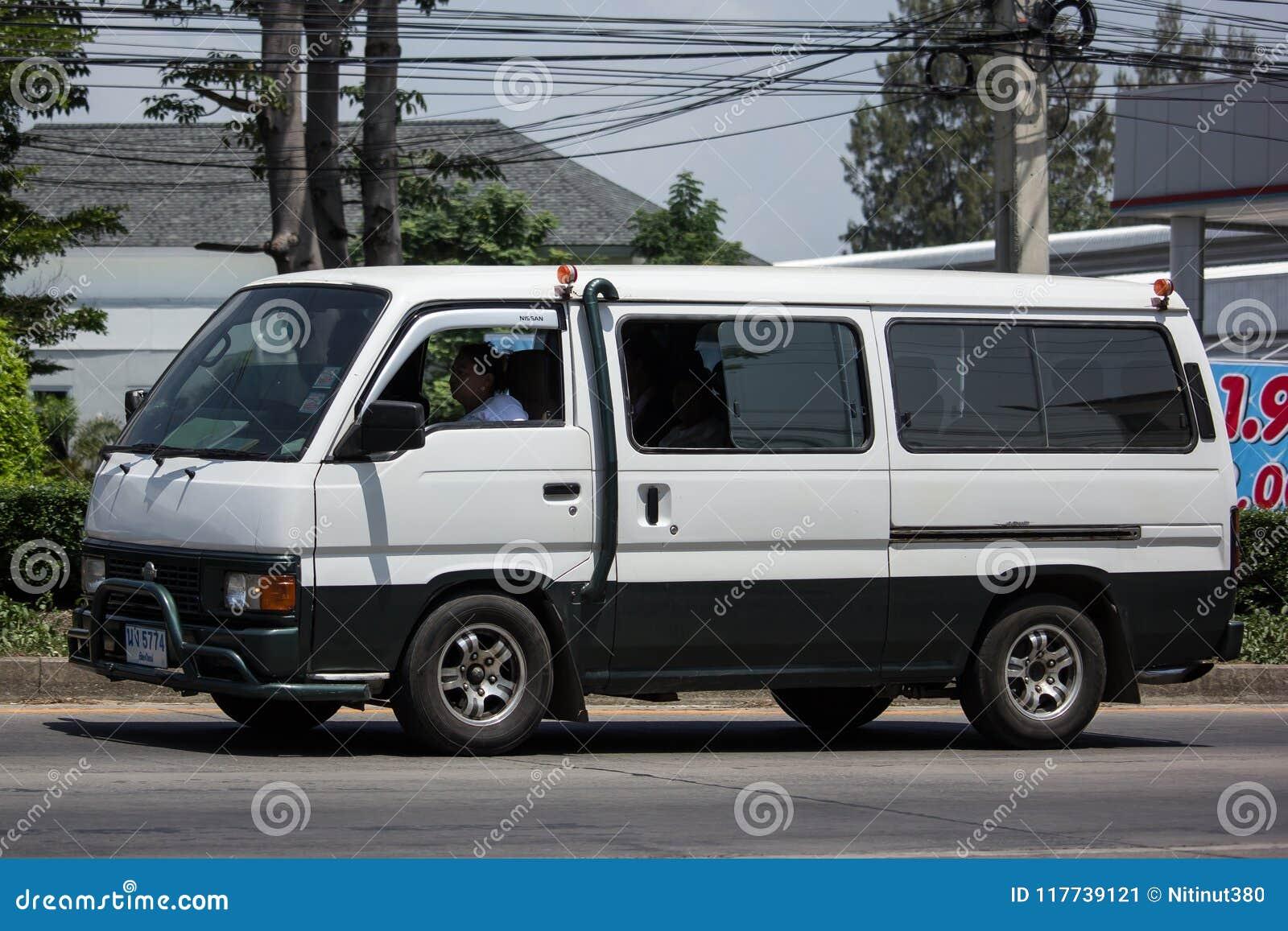 Private Old Nissan Urvan Van Car Editorial Photo Image Of