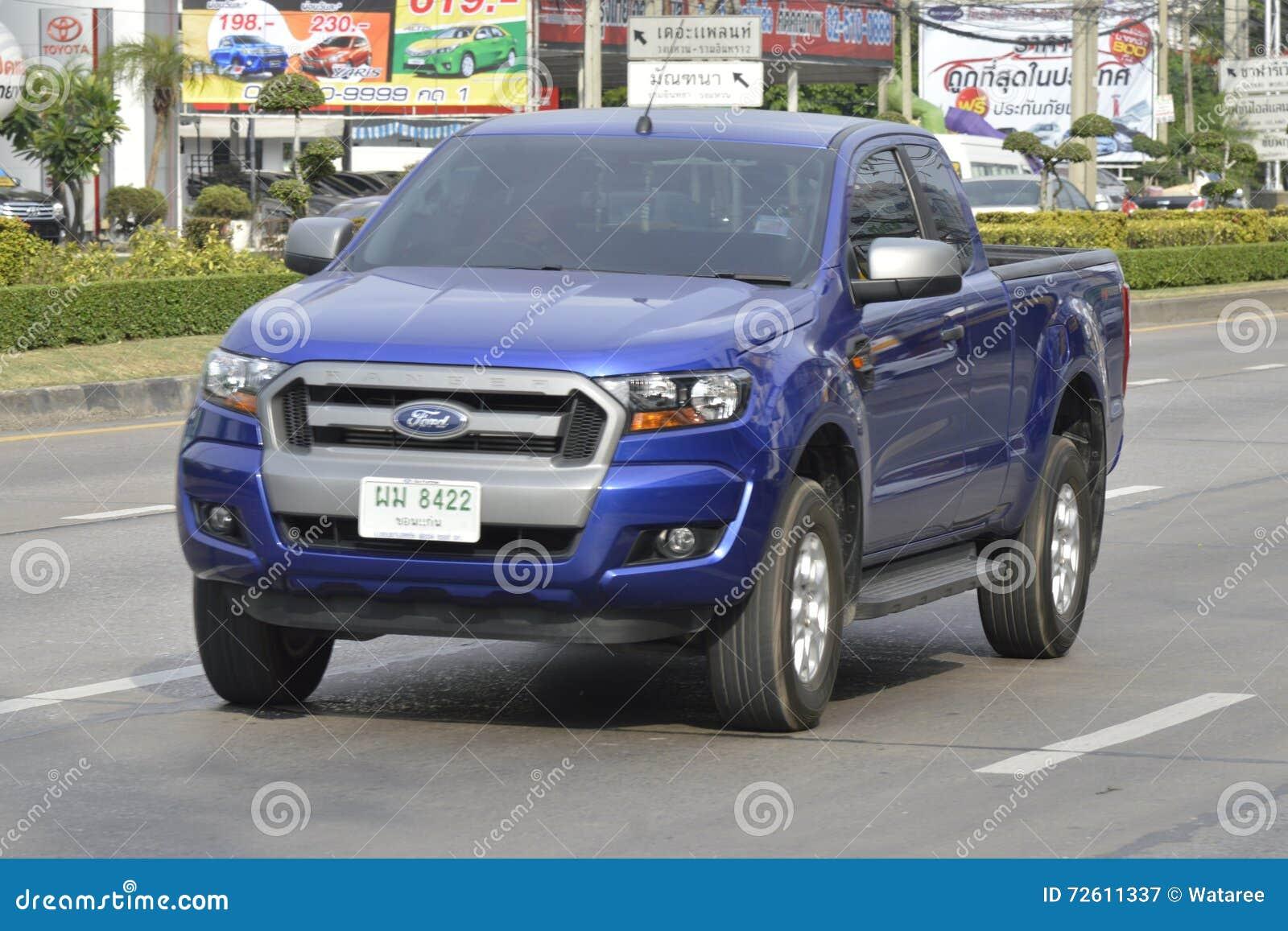 private pickup car ford ranger 2016 editorial image. Black Bedroom Furniture Sets. Home Design Ideas