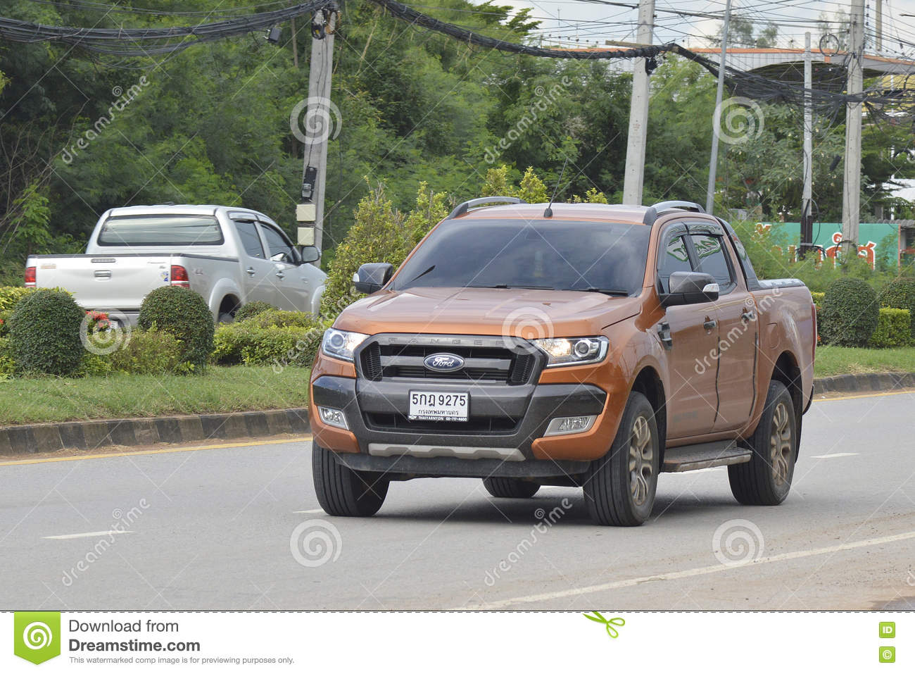 car ford ranger 2016 editorial image cartoondealer 74794206