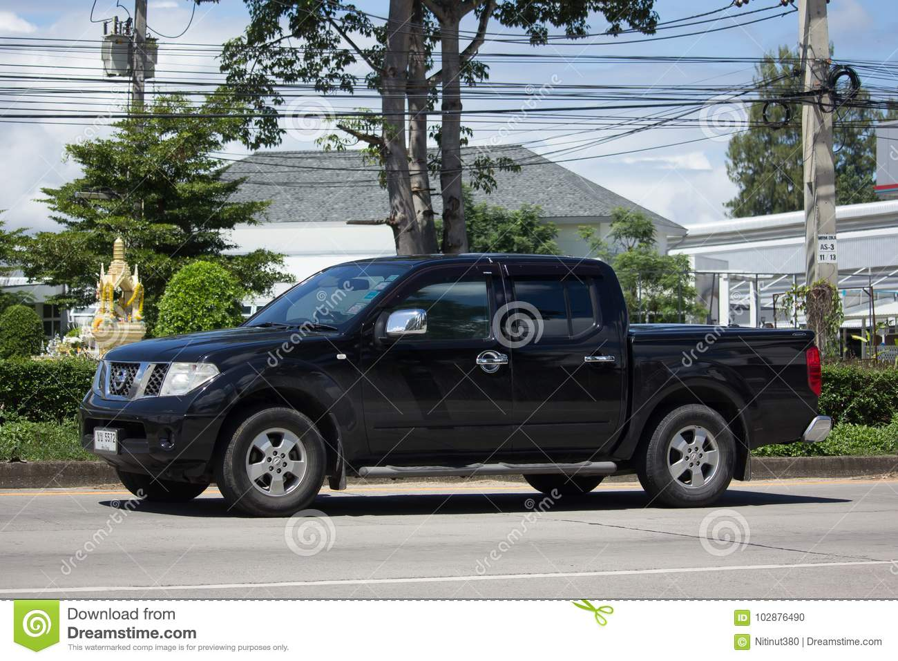Private Pickup Car Nissan Navara Editorial Image Image Of