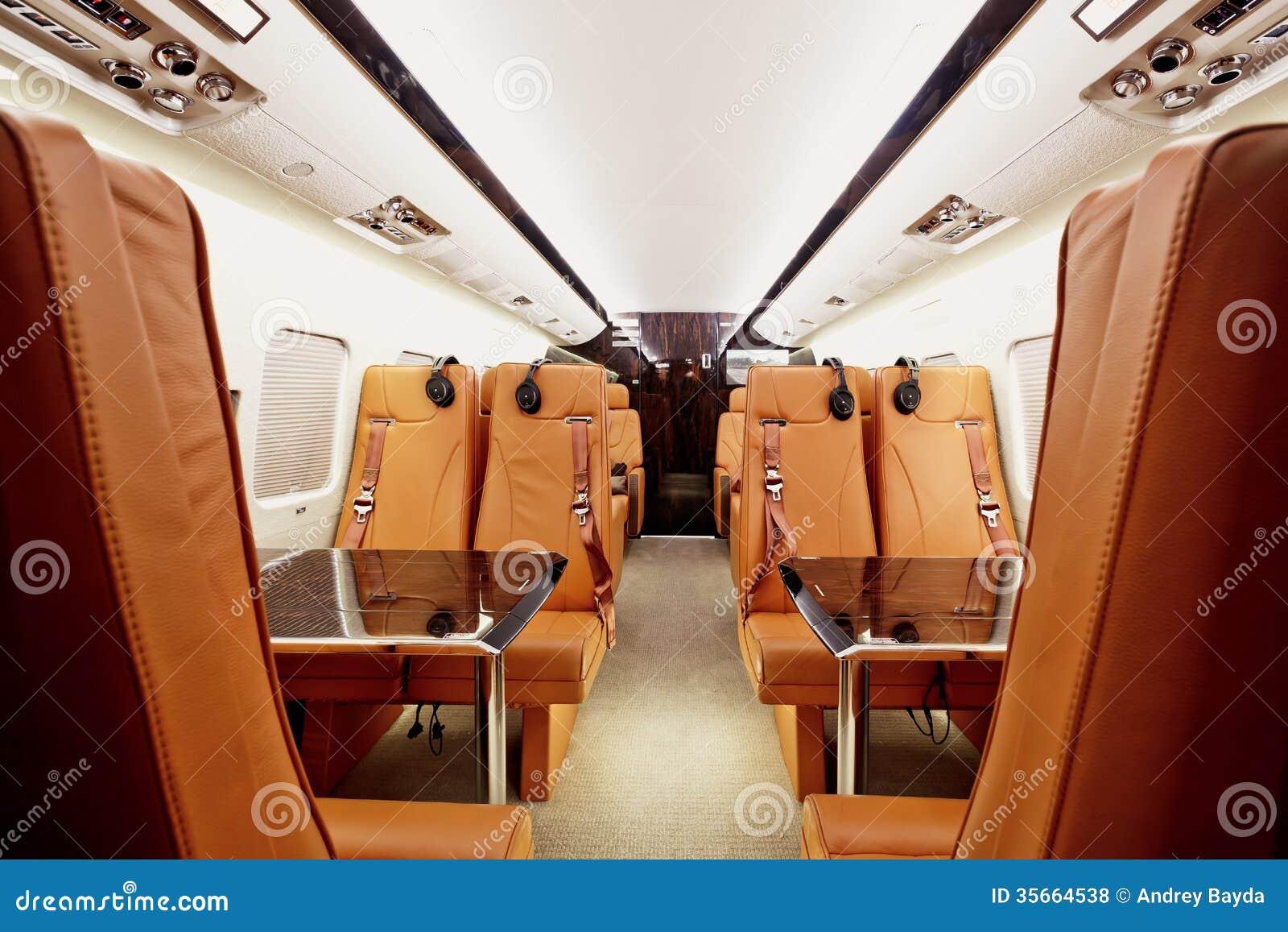 private plane interior stock photo image of light machine 35664538