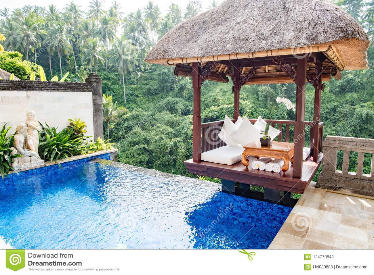 Private Pool In Balinese Resort With View To Jungle Viceroy Ubud