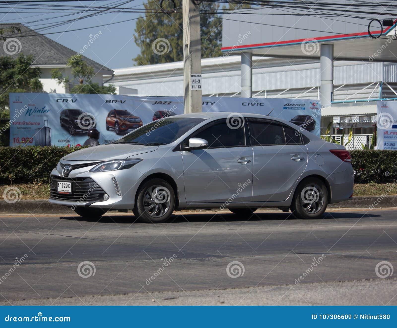 Private Sedan Car Toyota Vios  Editorial Stock Image - Image