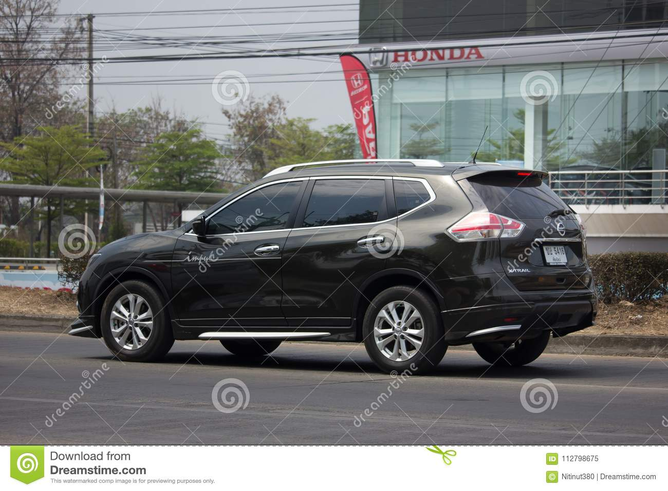 Private Suv Car Nissan X Trail Editorial Image Image Of