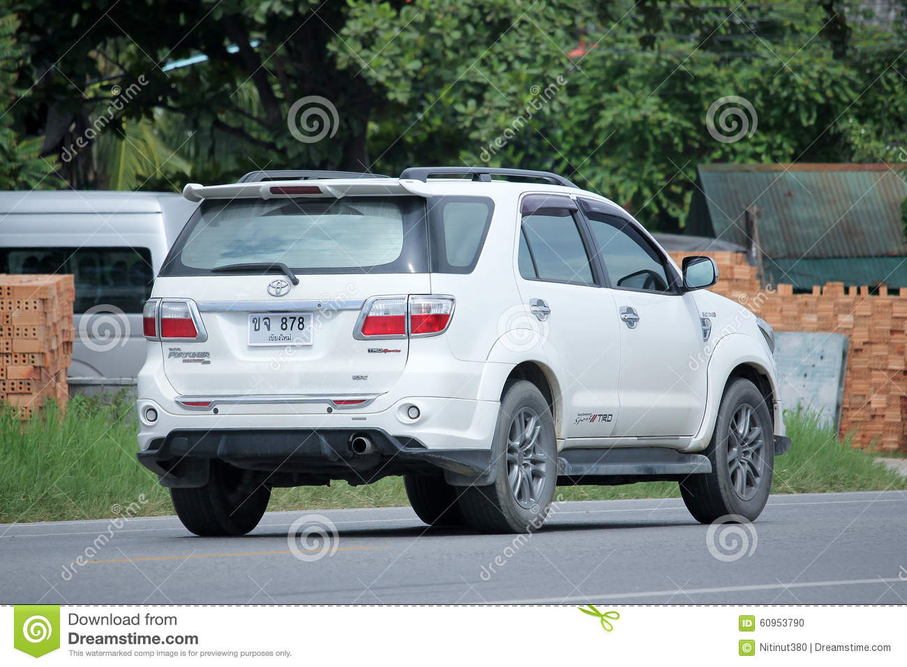 Private Suv Car Toyota Fortuner Editorial Image Image Of Utility