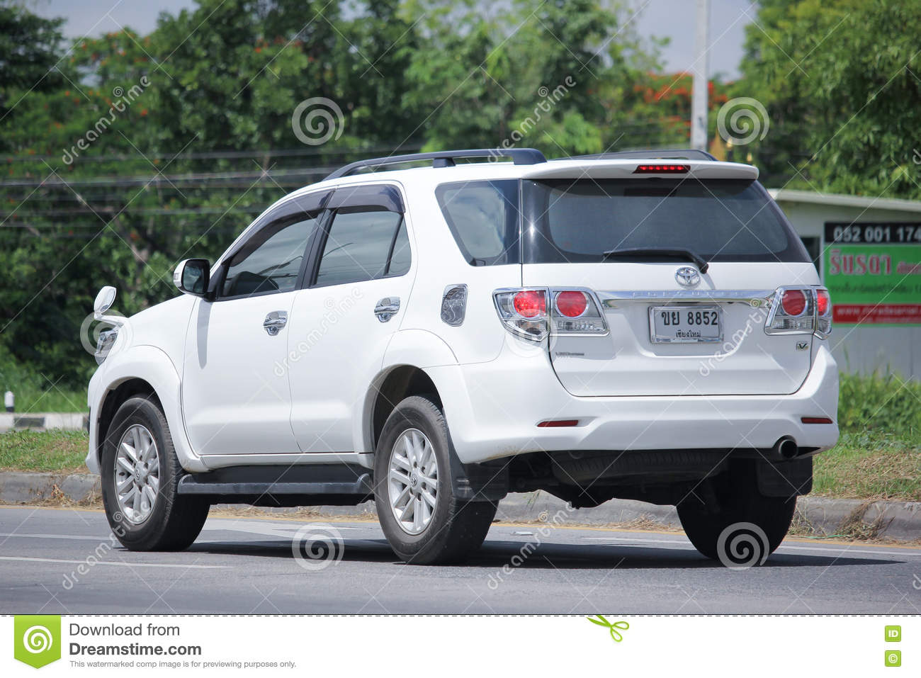 Private Suv Car Toyota Fortuner Editorial Stock Photo Image Of