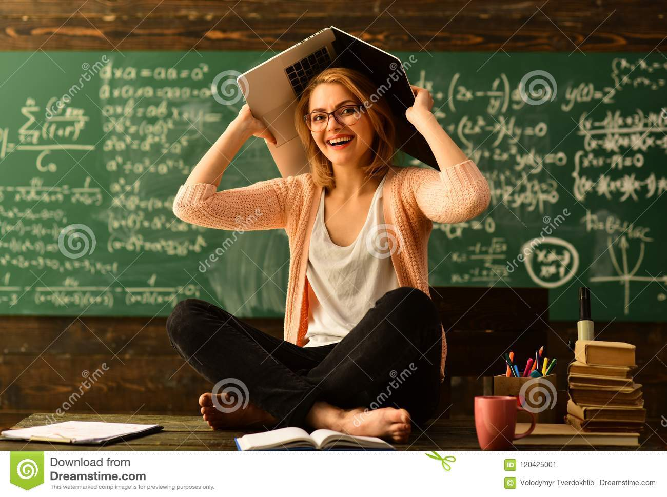 Private tutors often have vast teaching experience, Education university learning and people concept, Charismatic