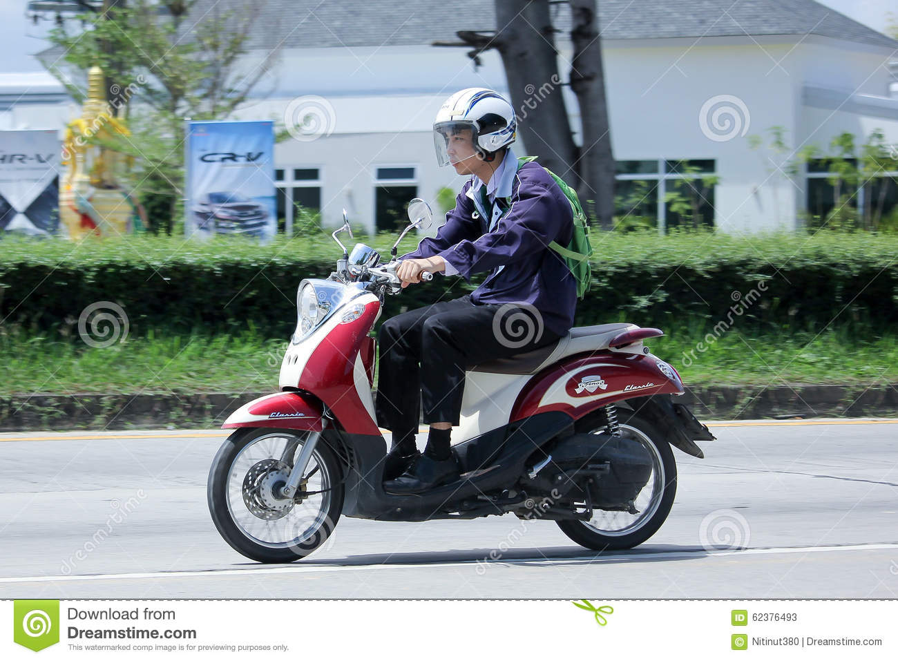 Private yamaha motorcycle fino editorial stock photo for Yamaha motorcycles thailand prices