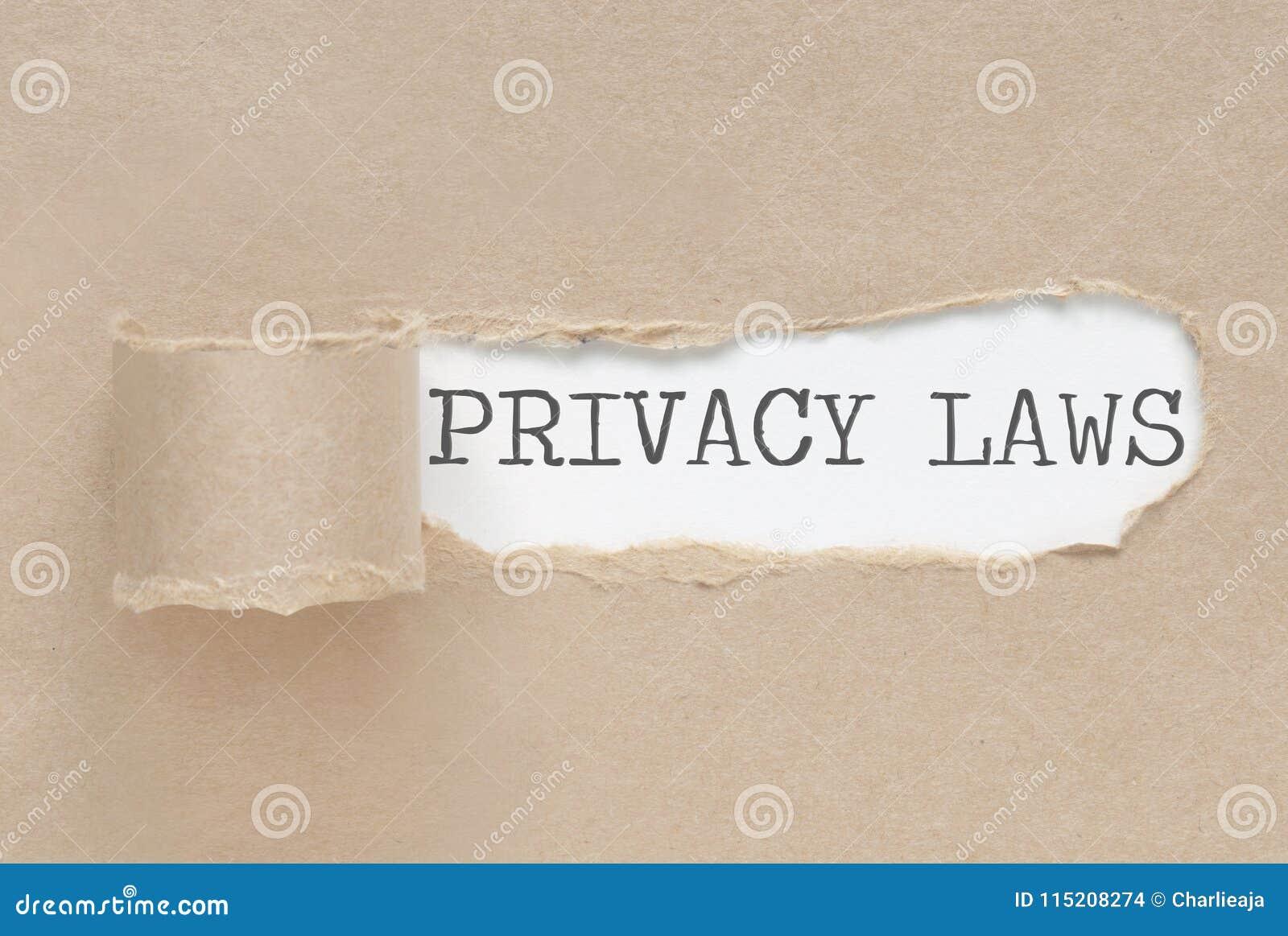 Privatlebengesetze aufgedeckt