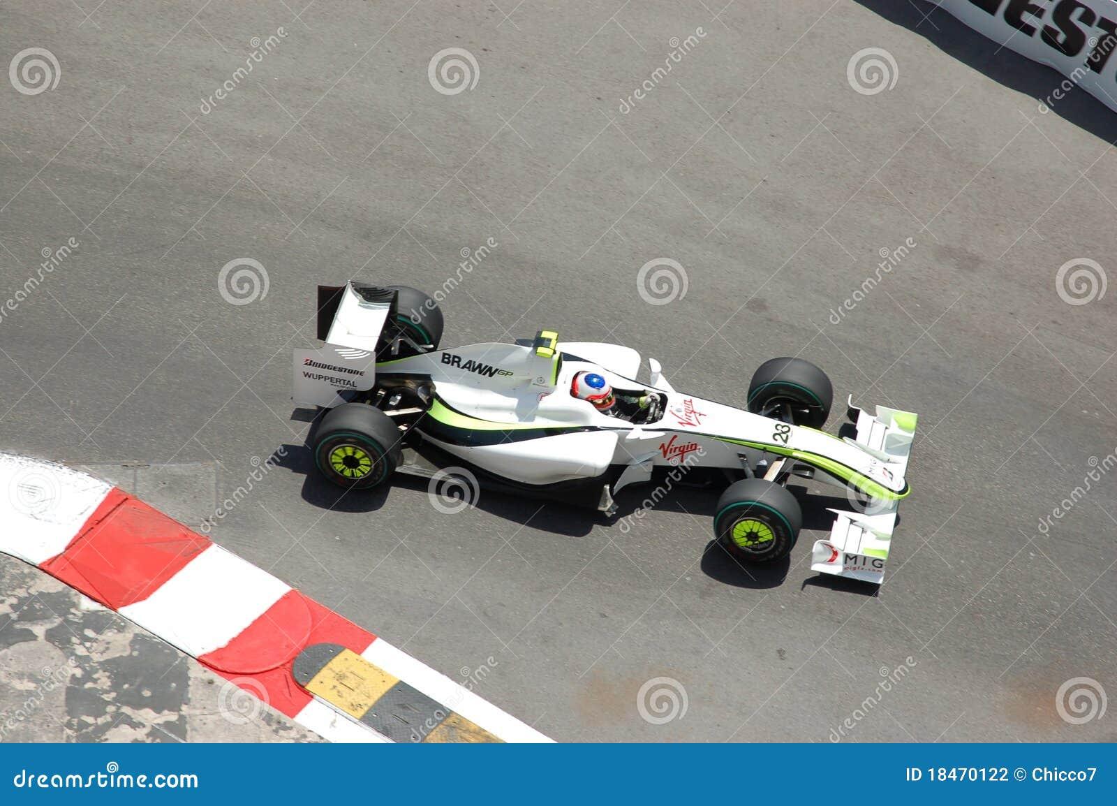 Prix grande Monaco 2009, Brawn de Barrichello
