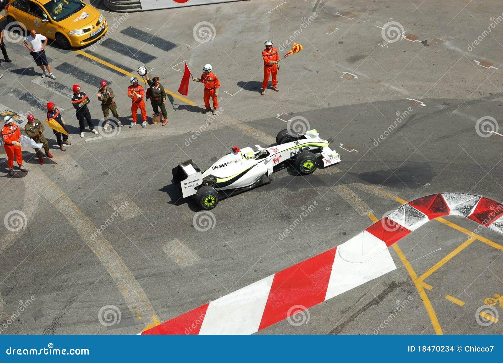 Prix grande Monaco 2009, Brawn de Jenson Button
