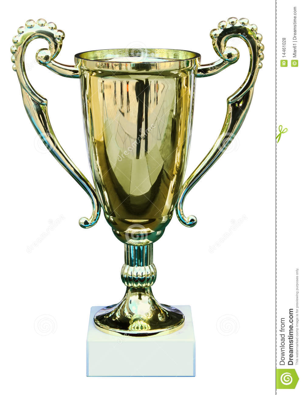 prize cup stock photo image of awarding winning first 14461028