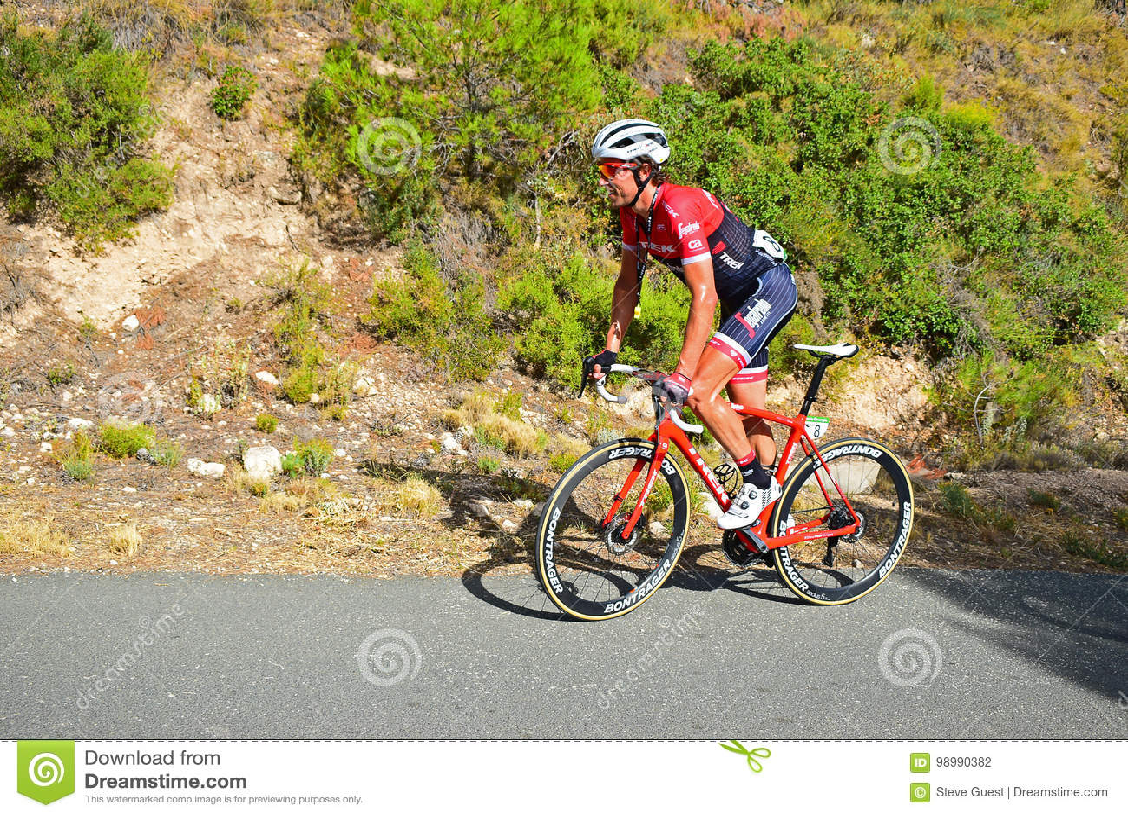 Pro Cyclist Koen De Koen, Trek Segafredo