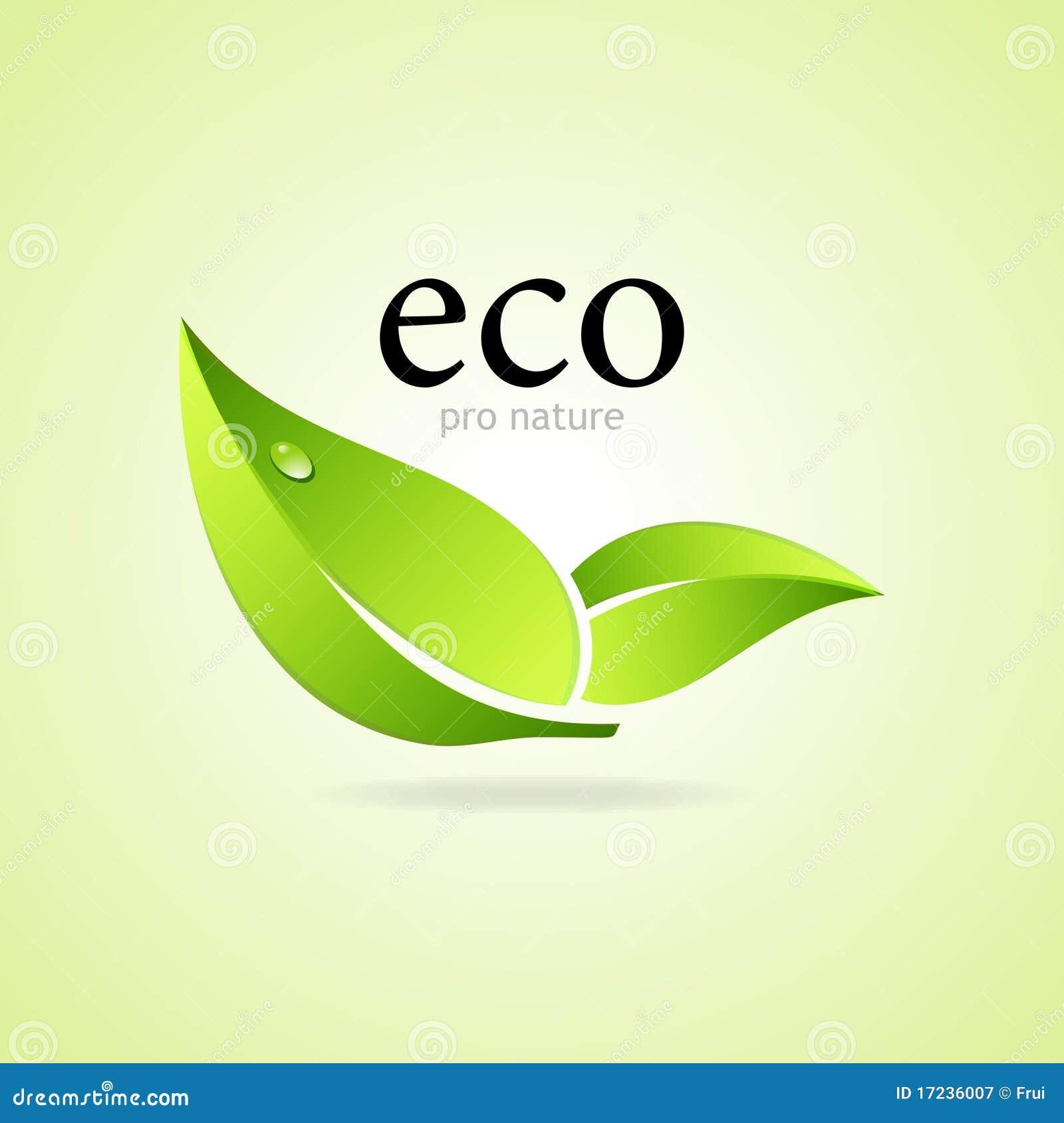 Pro de aardsymbool van Eco