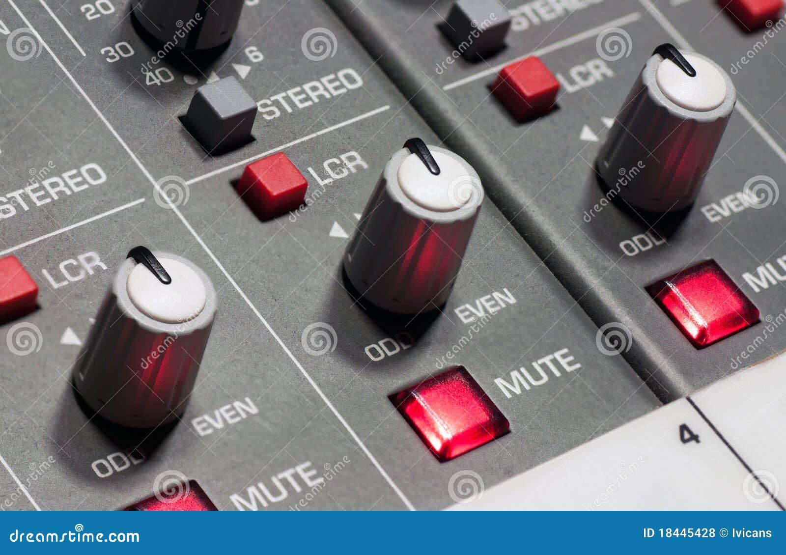 Pro panneau de mélange sonore
