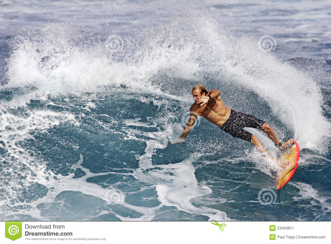 977ce03f3f Pro Surfer Flynn Novak Surfing In Hawaii Editorial Photo - Image of ...