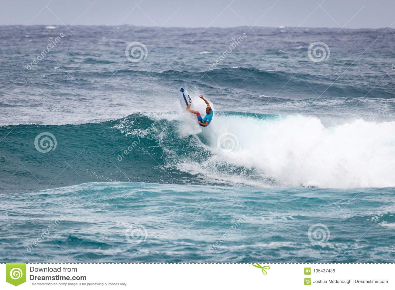 48432f52fe Pro Surfer Sunset Beach Hawaii Editorial Stock Photo - Image of epic ...