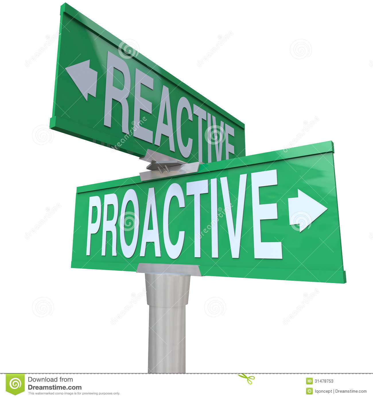 be proactive Habit 1 - take charge - be proactive take charge of your own life you are  responsible for your own actions and attitude take the initiative to make things.