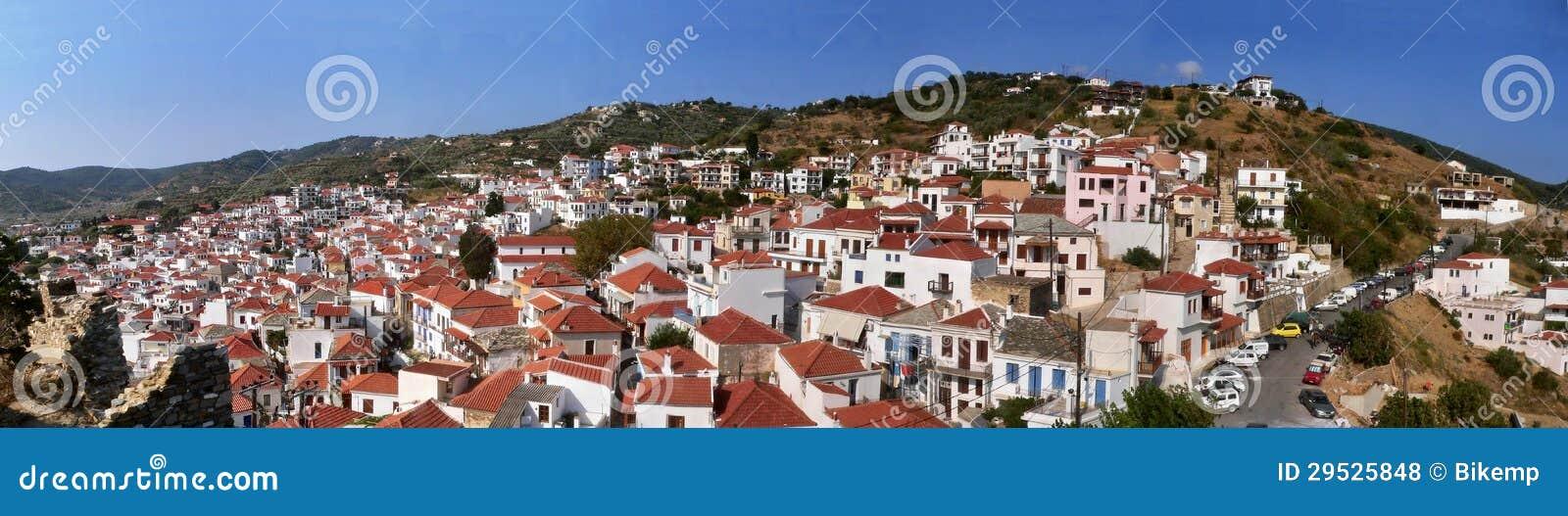 Probabilidade Greece-panorâmico em Skopelos