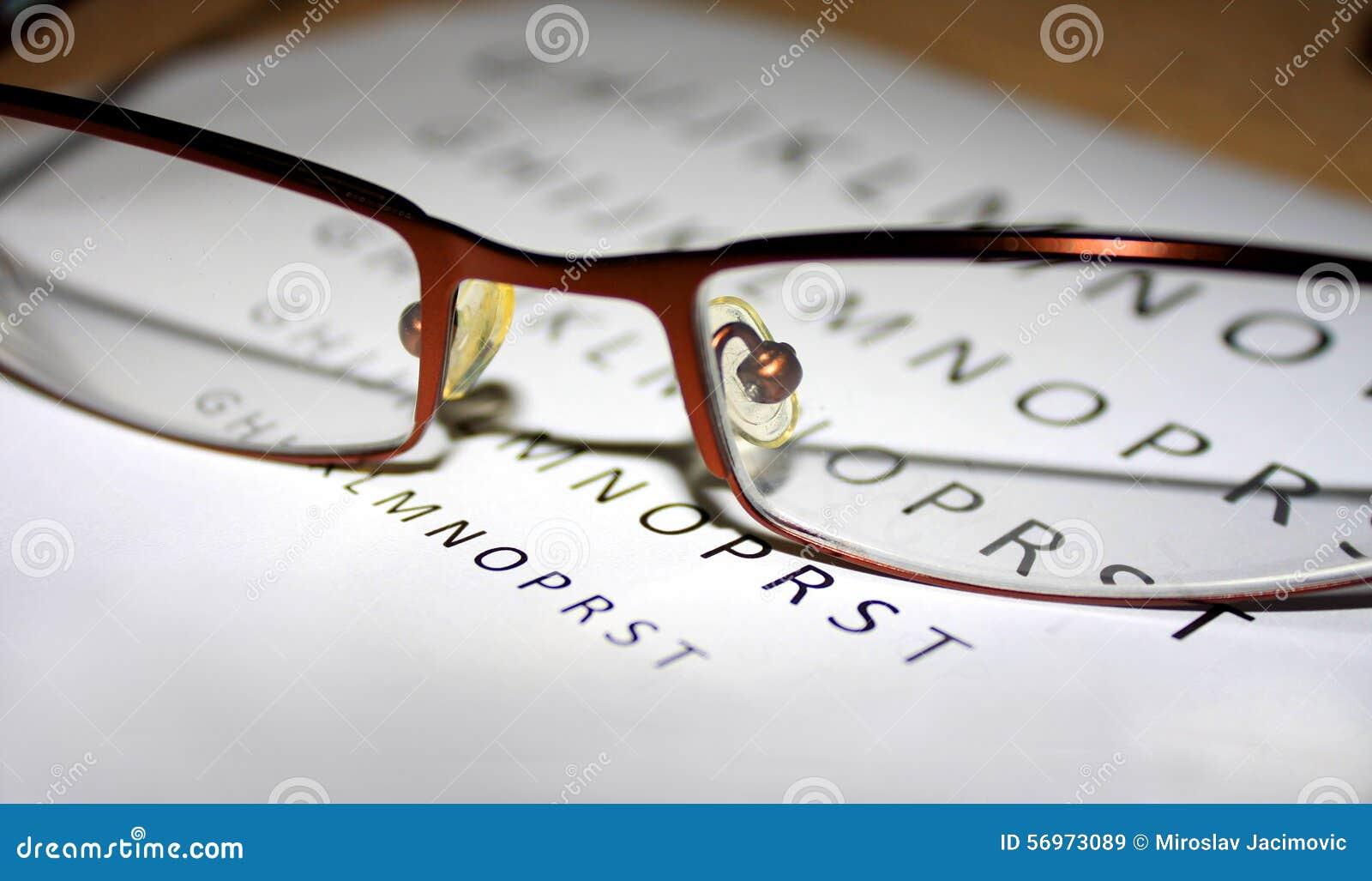 Problèmes avec la vision quand nous lecture