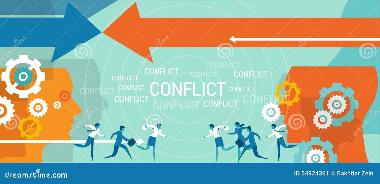 Problem för konfliktledningaffär