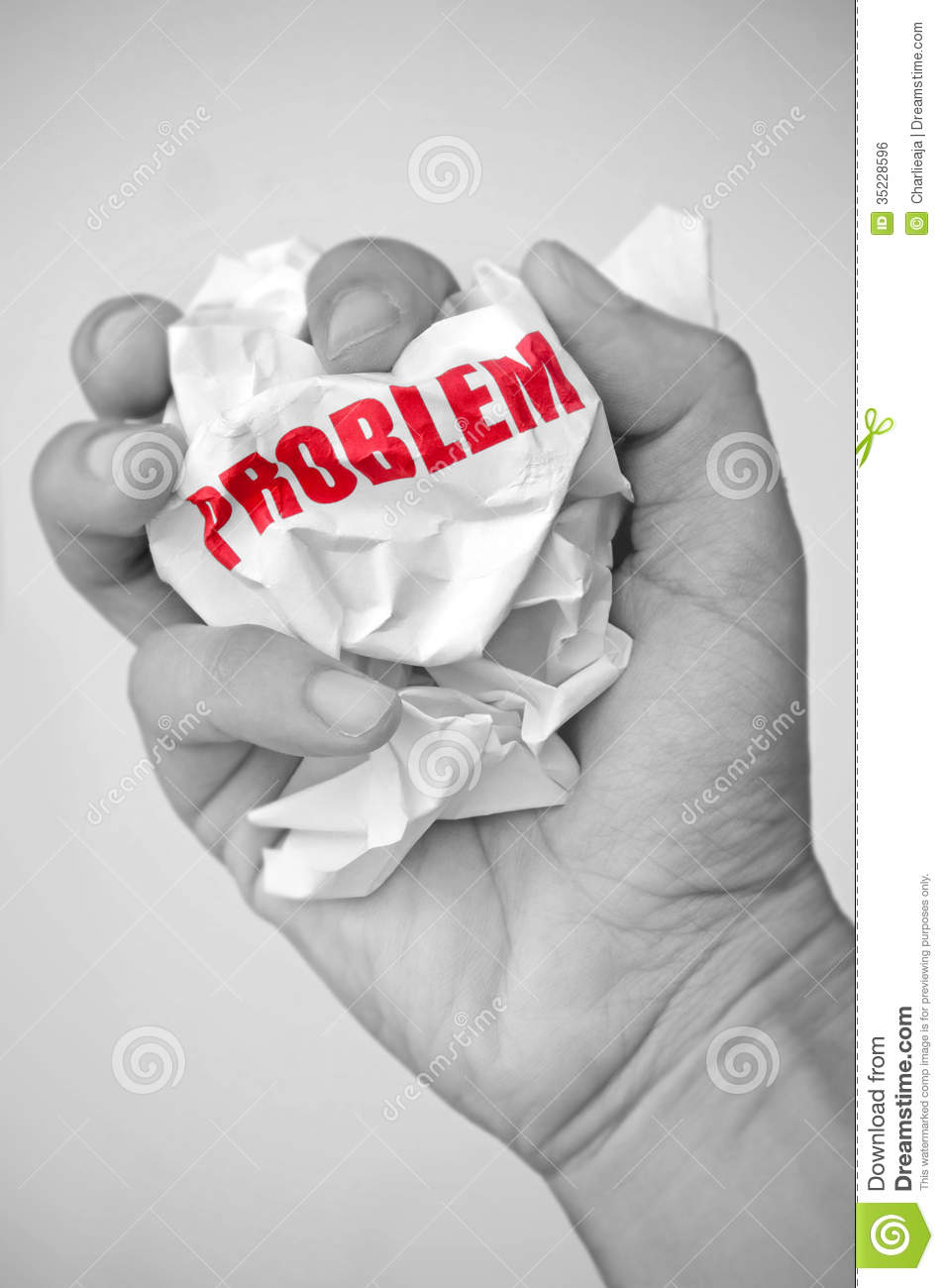 problem solved royalty stock image image 35228596 problem solved