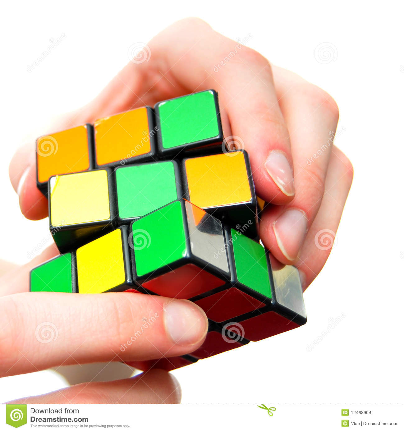 how to solve cube puzzle pdf